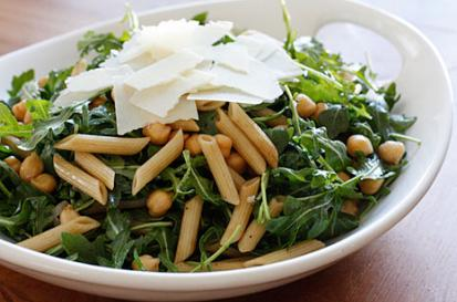 Penne Pasta Salad with Shaved Parmigiano-Reggiano
