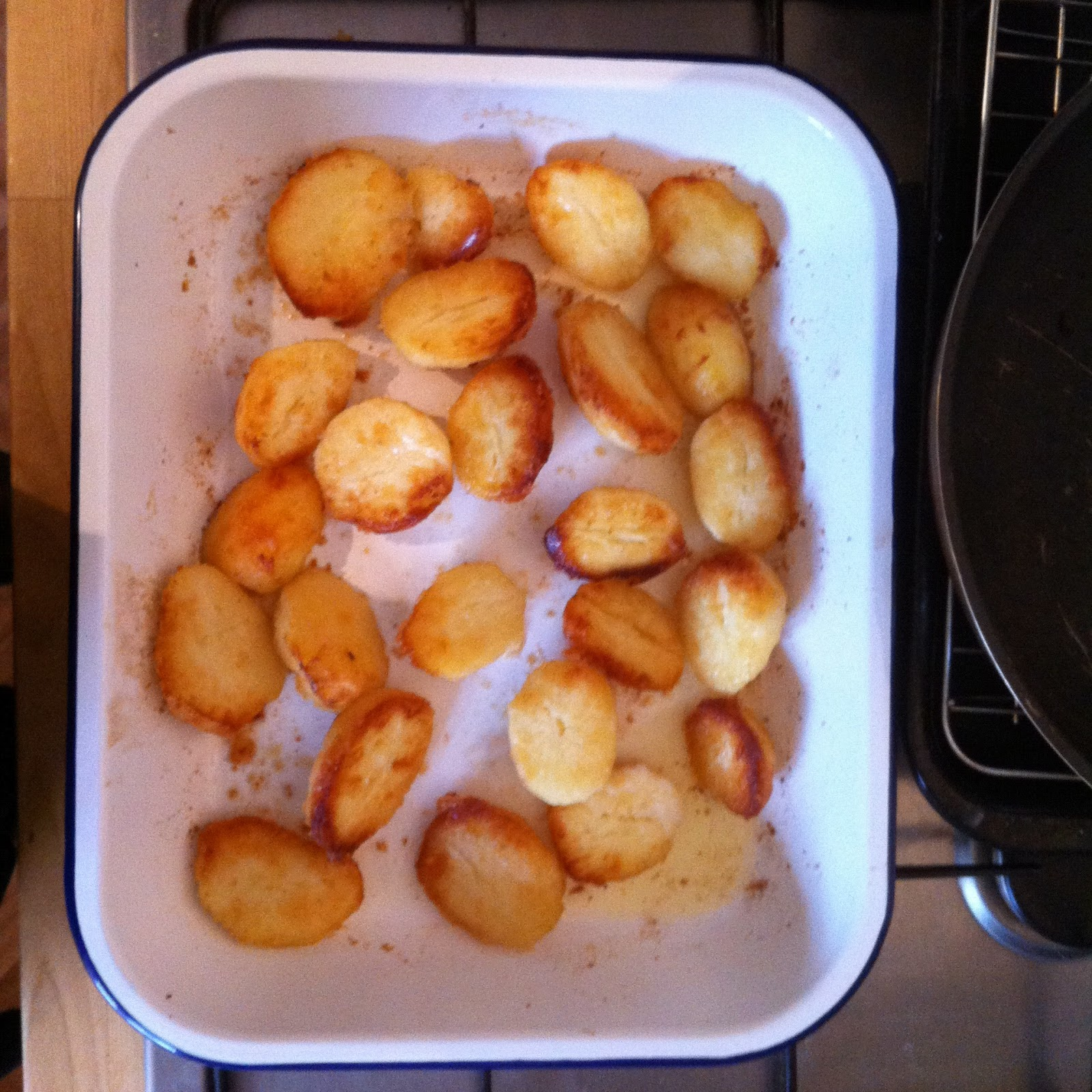 Perfect Roasties - Roast Potatoes for English Sunday Lunch