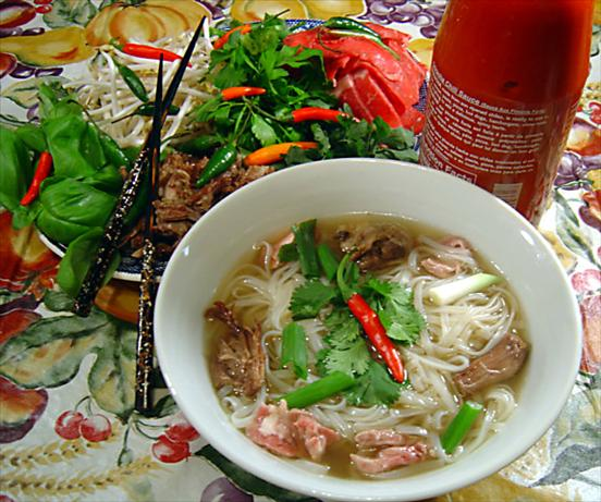 Pho by Mean Chef (Vietnamese Beef & Rice-Noodle Soup)