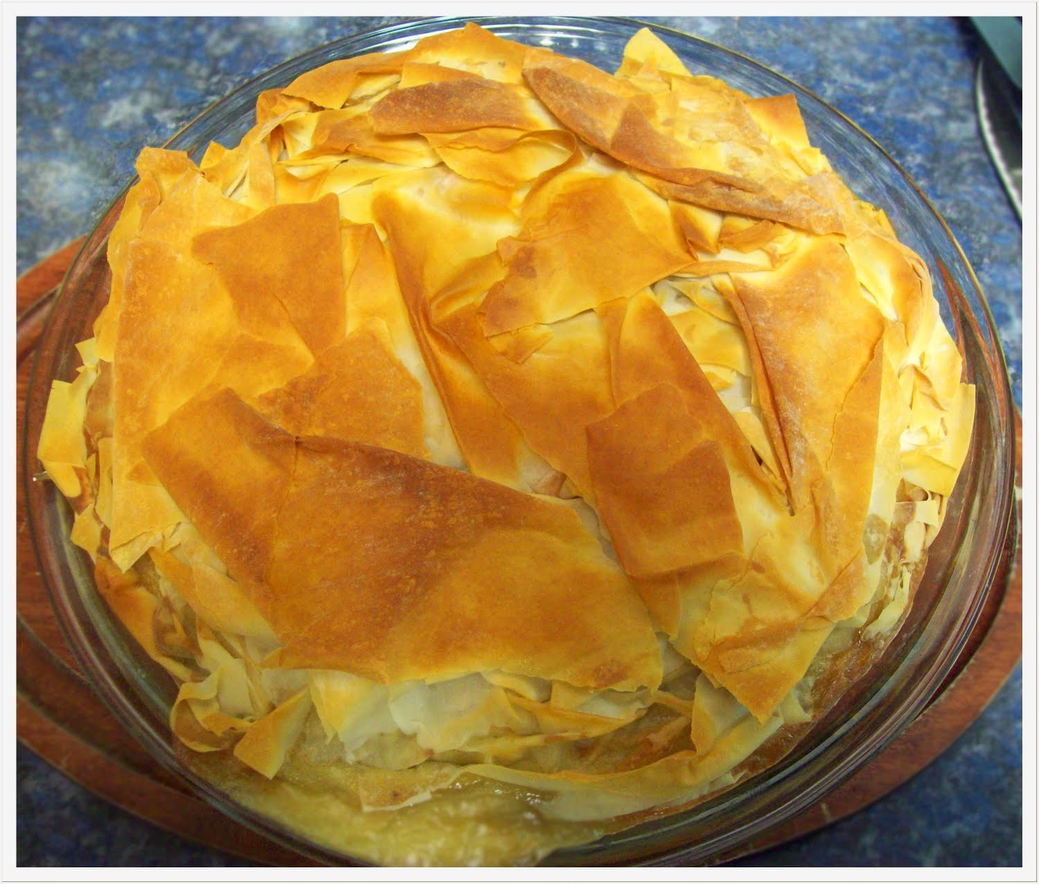 Phyllo Vegetable Pie