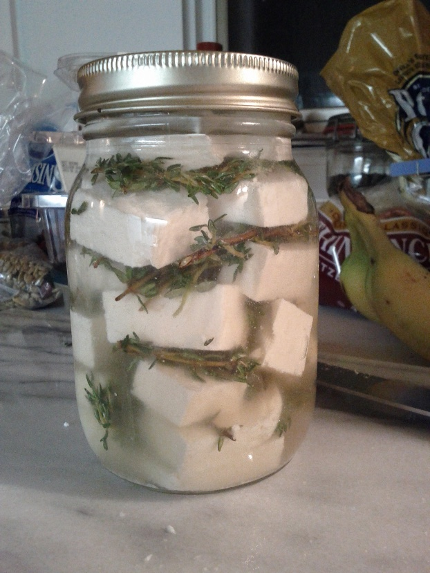 Pickled Cheese
