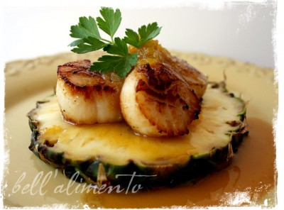 Pineapple Scallop