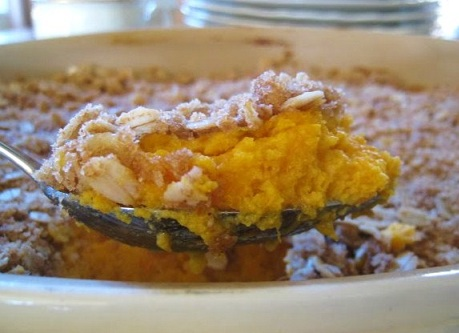 Pineapple Sweet Potato Souffle