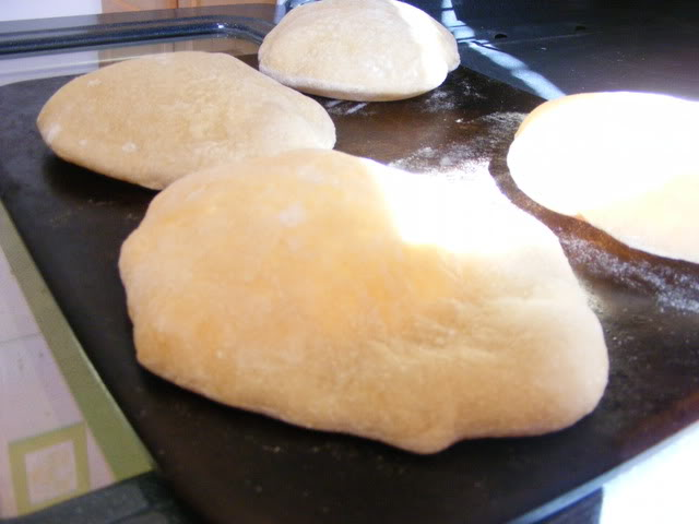 Pita Bread for the Breadmaker