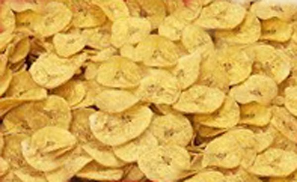 Platanutres (Plantain Chips)
