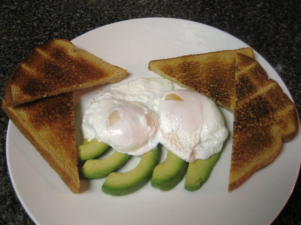 Poached Eggs & Avocado Toasts