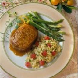 Pork Chops with Orange-Mustard Sauce