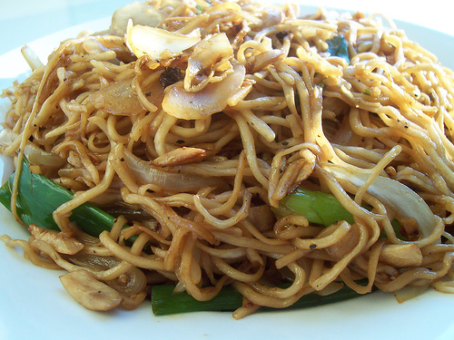 Pork Chow Mein for One