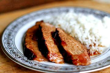 Pork Tenderloin with Orange Marmalade Glaze