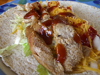 Pork Tenderloin Wraps