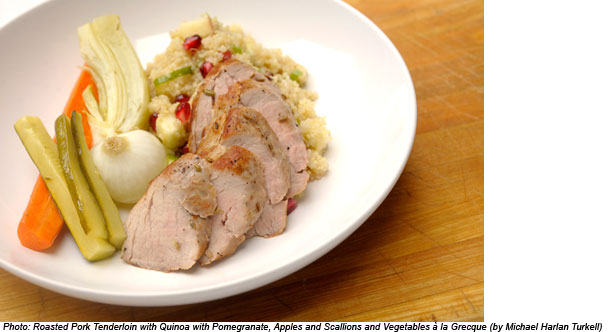 Pork Tenderloins with Fruit Chutney
