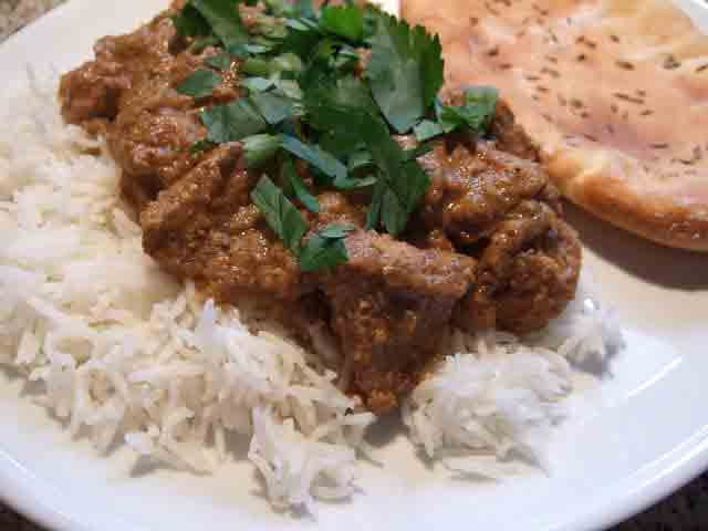 Pork Vindaloo - Pressure Cooker