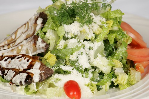 Portabella Salad With Balsamic Vinaigrette