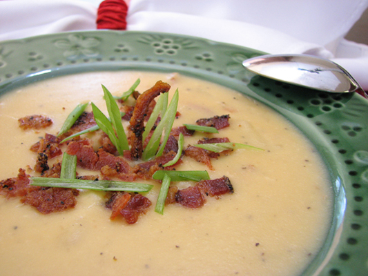 Potato and Bacon Chowder