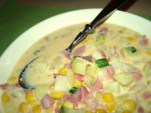 Potato Ham Chowder