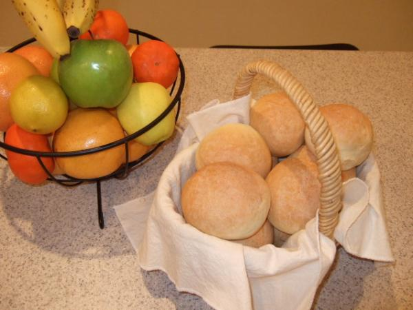 Prize-winning Crusty Rolls (bread Machine Dough Cycle)