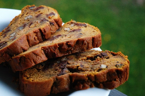 Pumpkin Pecan Bread for 22