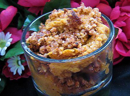Pumpkin Pie With Hazelnuts (From Fwdgf)