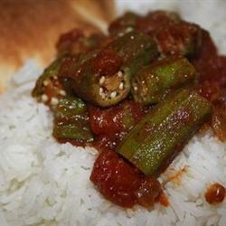 Quick and Easy Indian-Style Okra