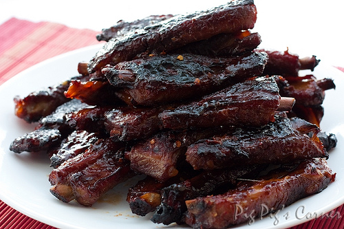 Quick and Tasty 3 Step BBQ Ribs