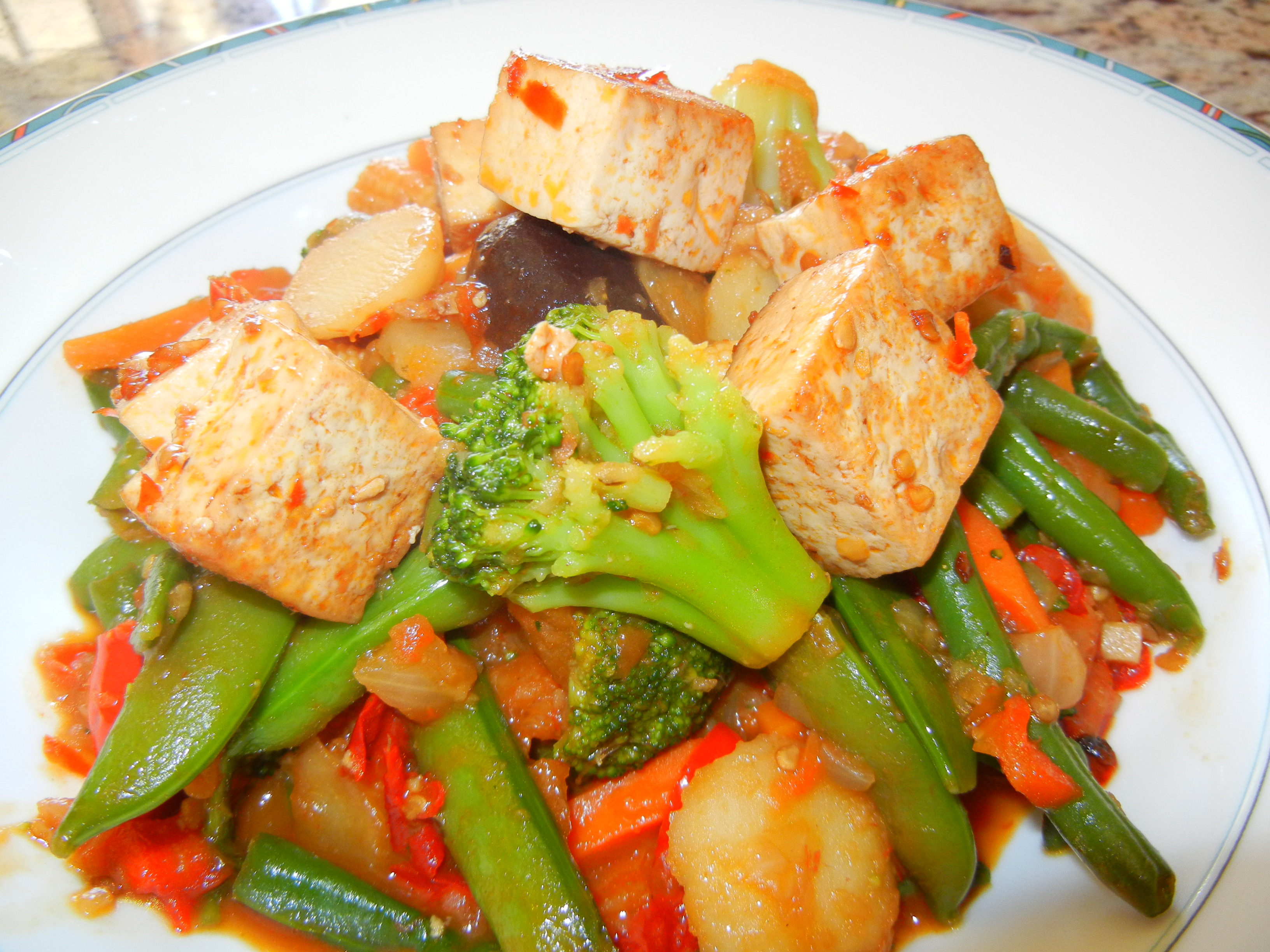 Quick, Colourful Tofu Stir-Fry