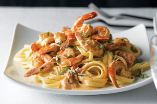 Quick Shrimp & Pasta