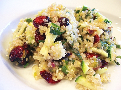 Quinoa-Cranberry Salad with Pecans