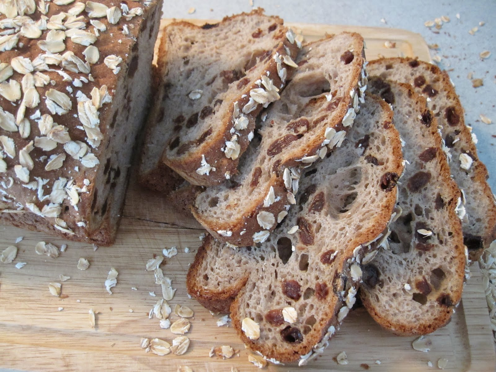 Raisin Granola Bread