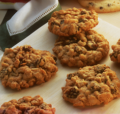 Raisin Oat Cookies