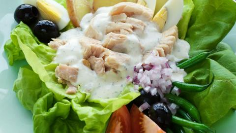 Ranch Nicoise Salad