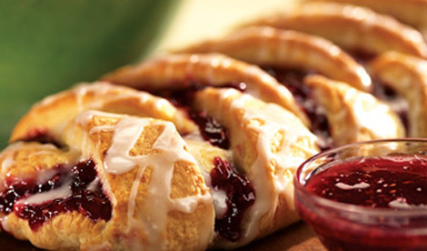 Raspberry Braid