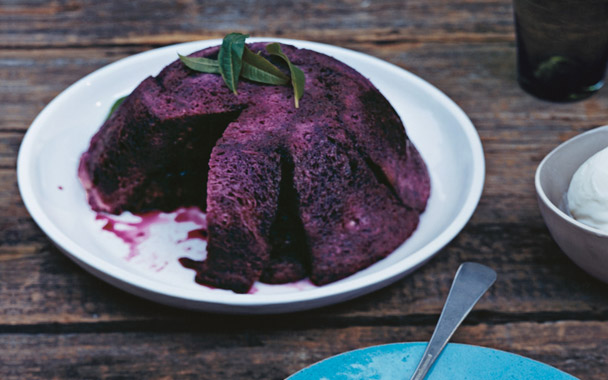 Raspberry Summer Pudding (English Style)
