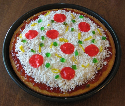 Really Deep Dish Pizza (Cake Pan Pizza)