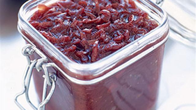 Red Onion Preserves