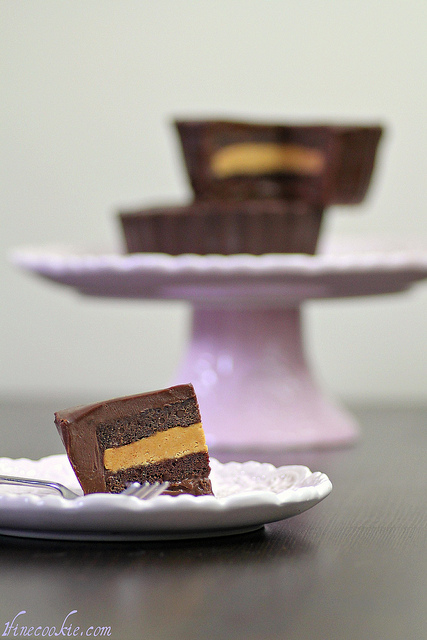 Reese's Cup Chocolate Cake
