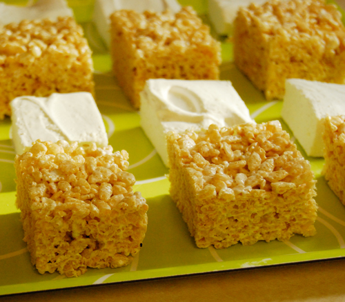 Rice Krispies Squares With Homemade Marshmallows