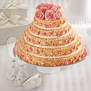 Rice Krispies Treats® Wedding Cake