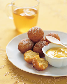 Ricotta, Lemon and Honey Fritters