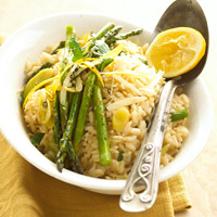 Risotto with Leeks and Radicchio