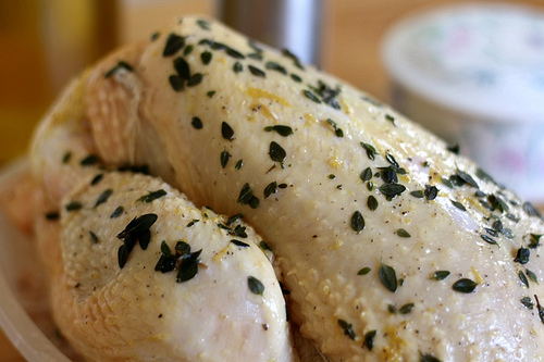 Roasted Chicken With Lemon and Fresh Herbs