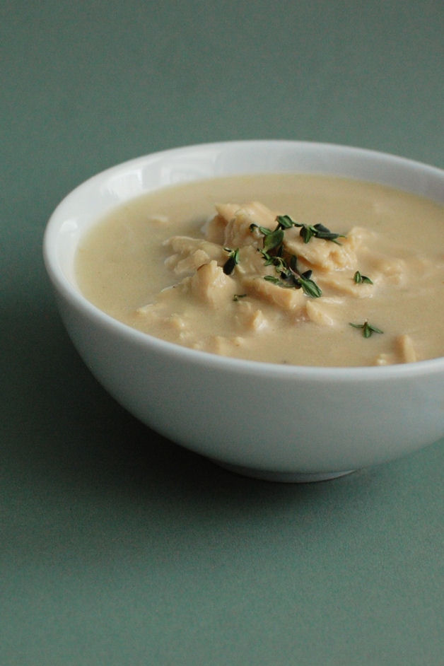 Roasted Garlic/Chicken Soup