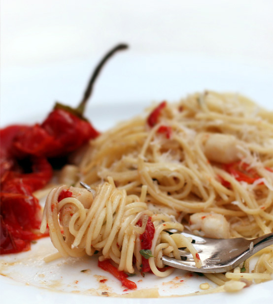 Roasted Sweet Pepper Pasta