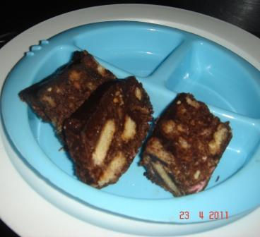 Rocky Road Crunch Bars - Nigella Lawson