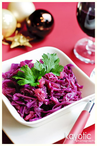 Rode Kool (Red Cabbage) Dutch recipe