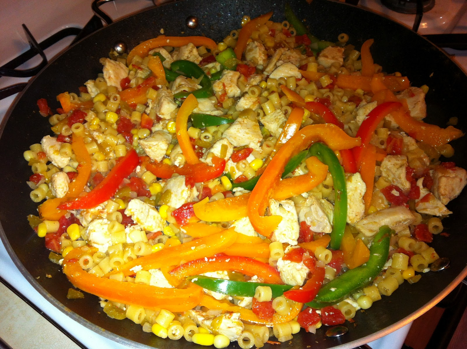 Rosamarina Chicken Stir-Fry