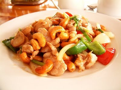 Rosemary Cashew Chicken