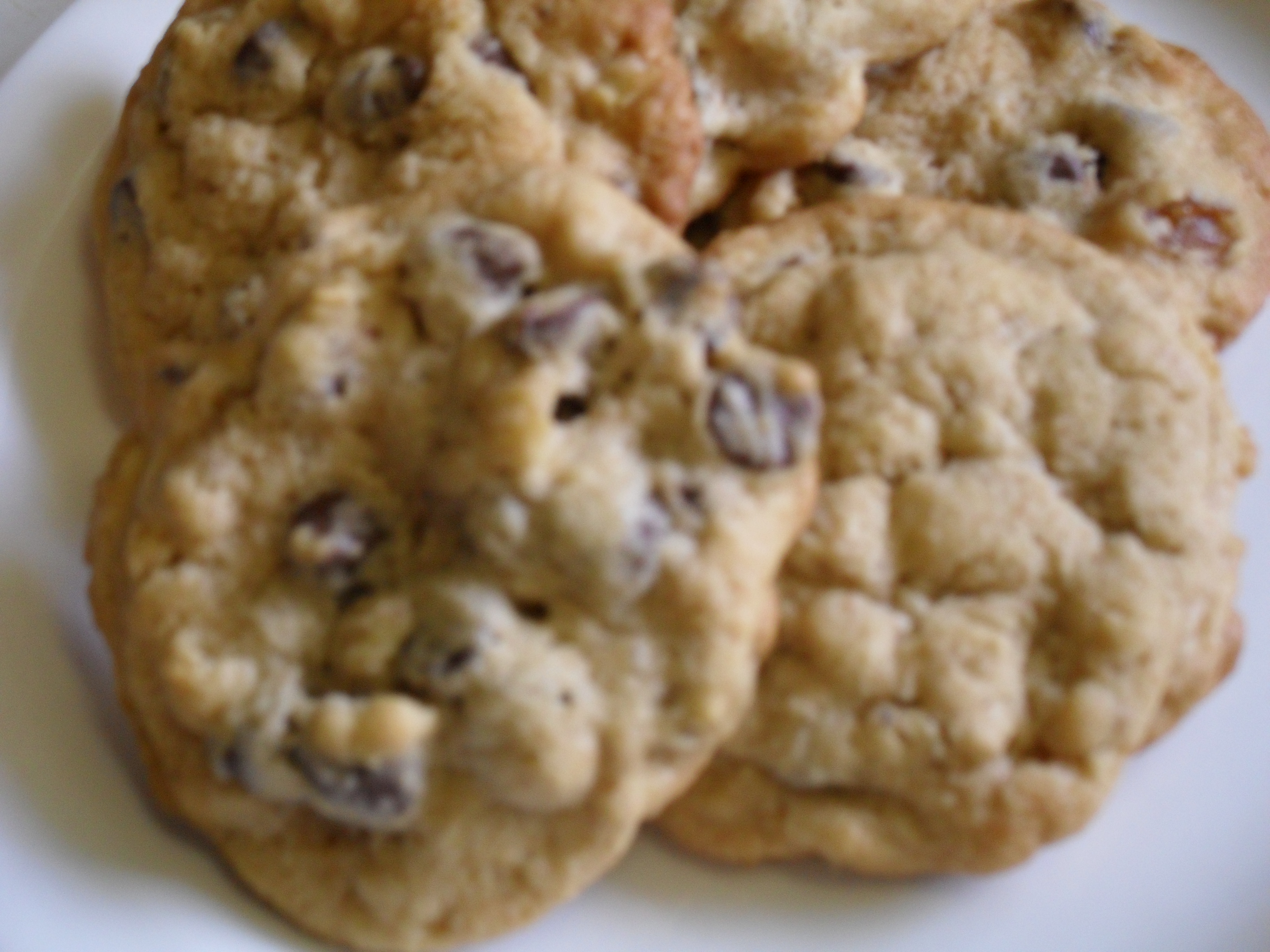 Rum Raisin Cookies