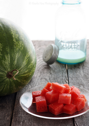 Rum Spiked Watermelon Shooter