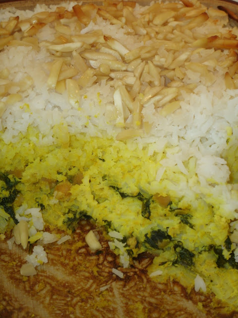 Saffron Rice Or Tacheen