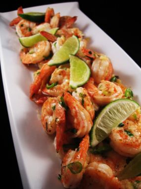 Salt-and-Pepper Shrimp with Garlic and Chile - Recipegreat.com